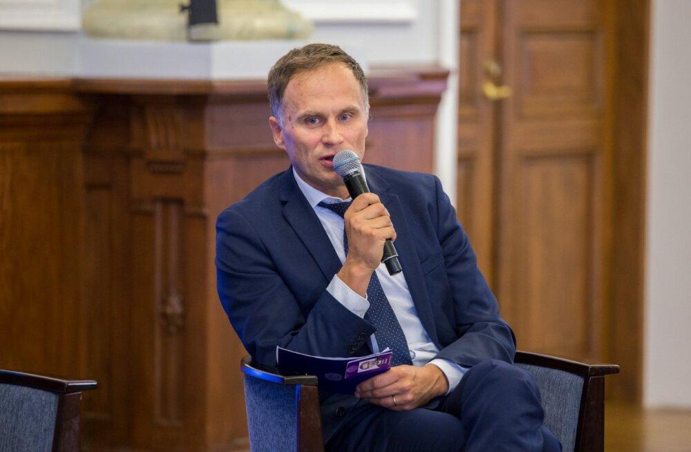 Finantsinspektsiooni juhatuse liige Andre Nõmm.