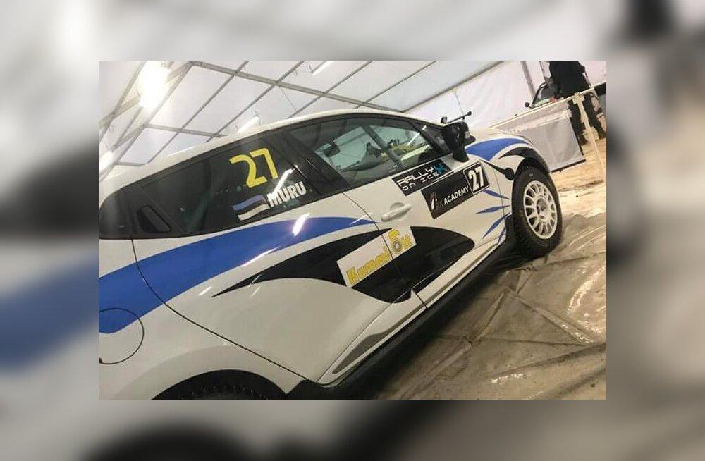 RallyX on Ice: Marko Andreas Muru langes üldarvestuses koha võrra