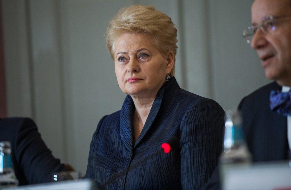 Baltimaade ja Poola presidentide kohtumine Kõue mõisas