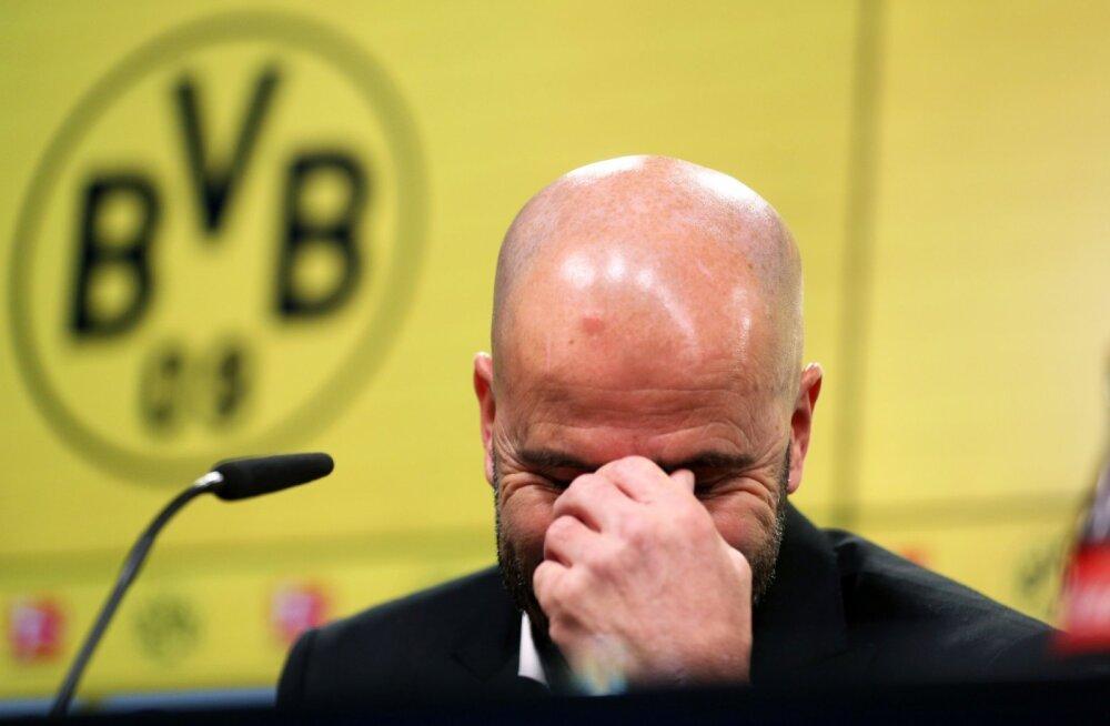 Järjekordne kaotus sai saatuslikuks: Dortmund vallandab viimaks peatreeneri