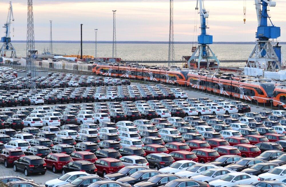Uued masinad Paldiski sadamas