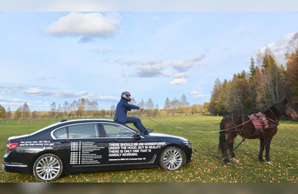 Miks loetles mees oma 123 000 eurose BMW küljel üles auto kõik vead ja mis saab edasi?