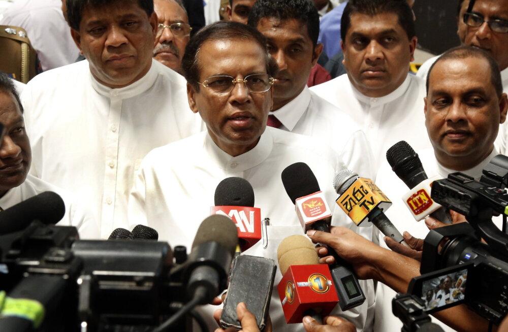 Sri Lanka president lubas kogu julgeolekusüsteemi ümber korraldada