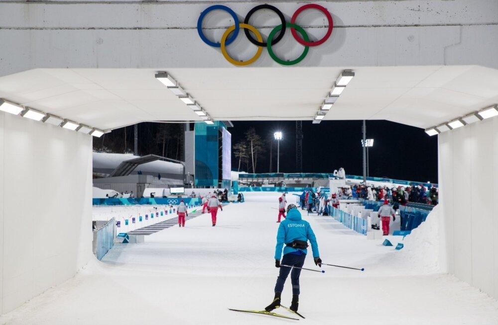 Pyeongchang2018 Meeste laskesuusatamine