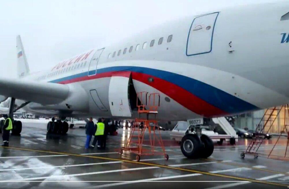 Moskva eitab erilennusalga Rossija lennuki osalemist Venemaa Argentina saatkonna kokaiinijuhtumis