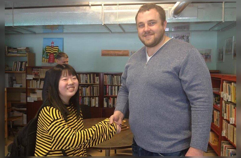 VAHVA KLÕPS | Unistused saavad teoks! Paldiskis õppiv jaapanlanna kohtus lõpuks Barutoga