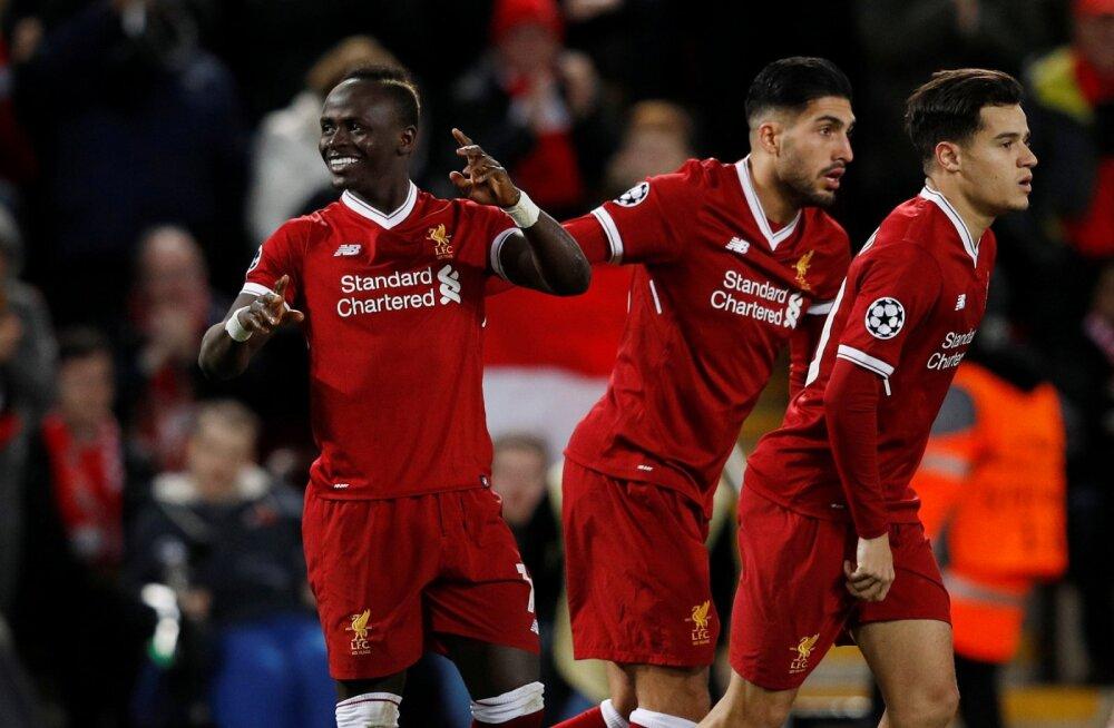 VÄGEV! Liverpool tagus Spartakile seitse vastuseta väravat ning purjetas kaheksandikfinaali