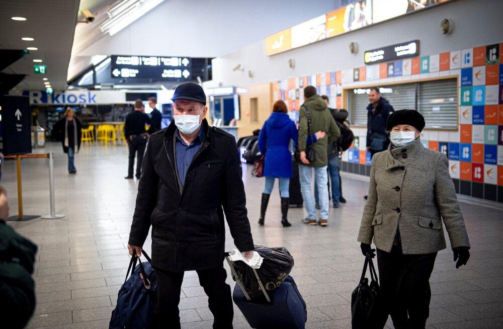 Erilennukiga Kiievist saabus Tallinna nii Eesti, Läti kui ka Leedu elanikke