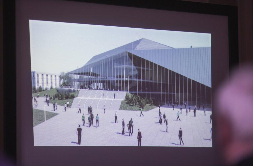 Arena Tartu üks võimalik variant