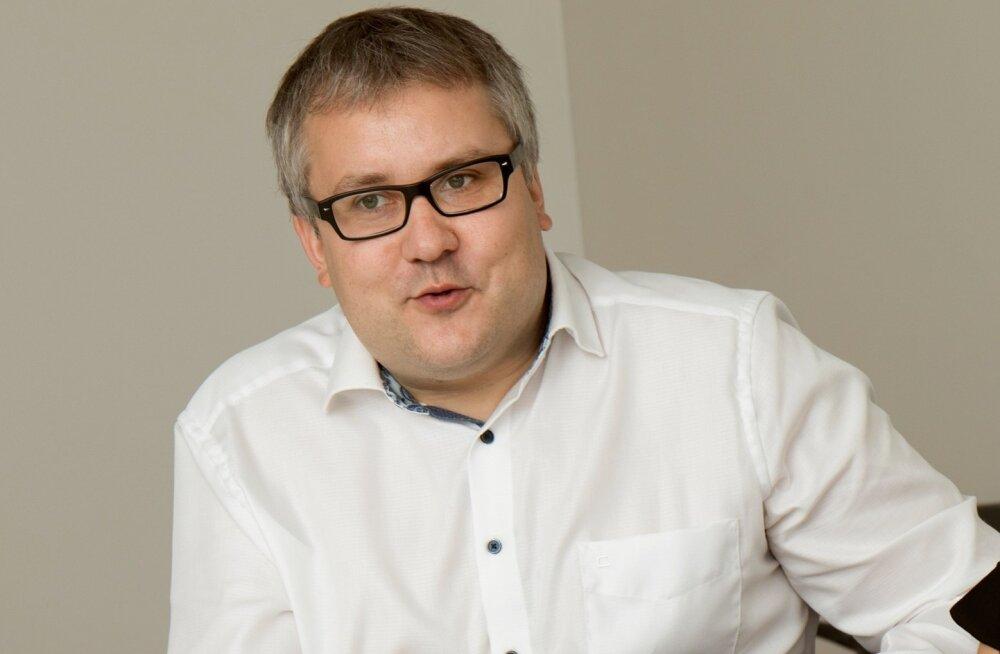 Roomet Sõrmus, Eesti Põllumajandus-Kaubanduskoja juhatuse esimees.