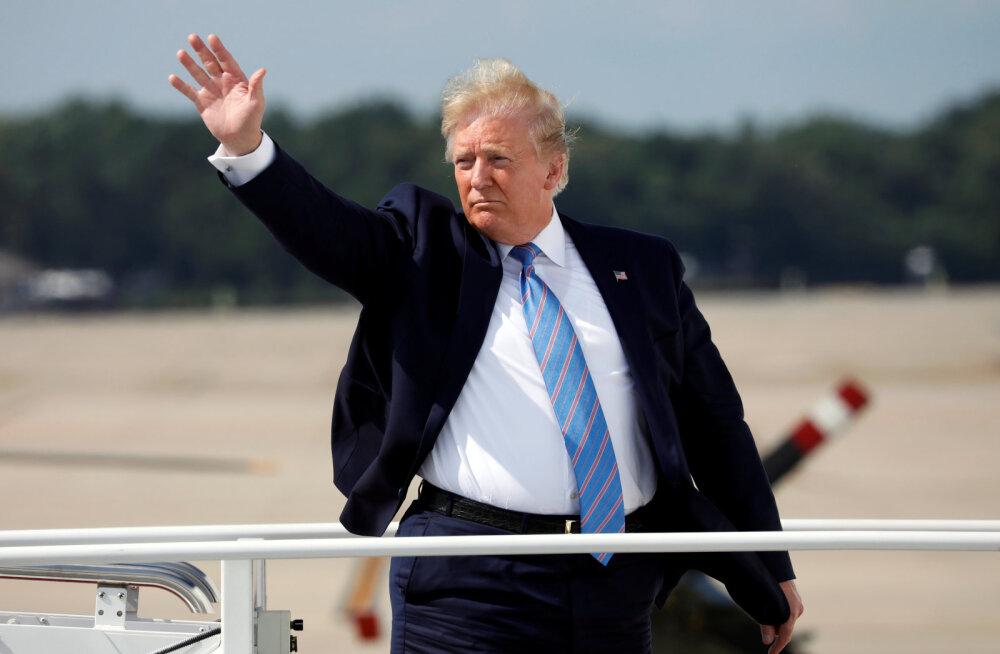 Trump kaitseb Hiina vastu kehtestatavaid uusi tollitariife