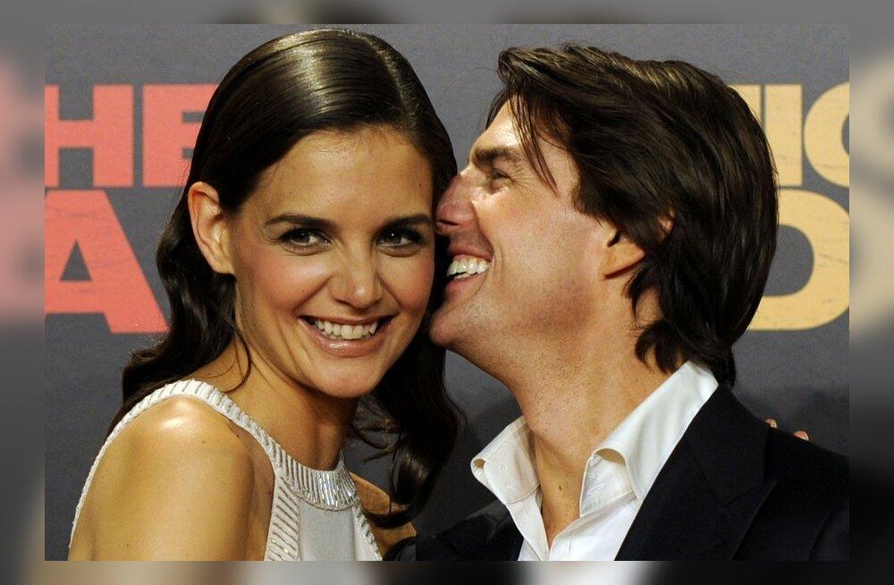 """Tom Cruise keelas Katie Holmesil """"Dawson's Creeki"""" filmis näidelda?"""