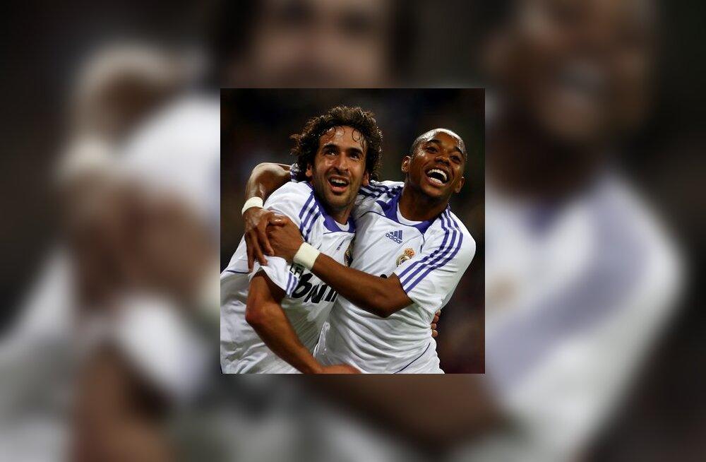 Raul ja Robinho, Madridi Real