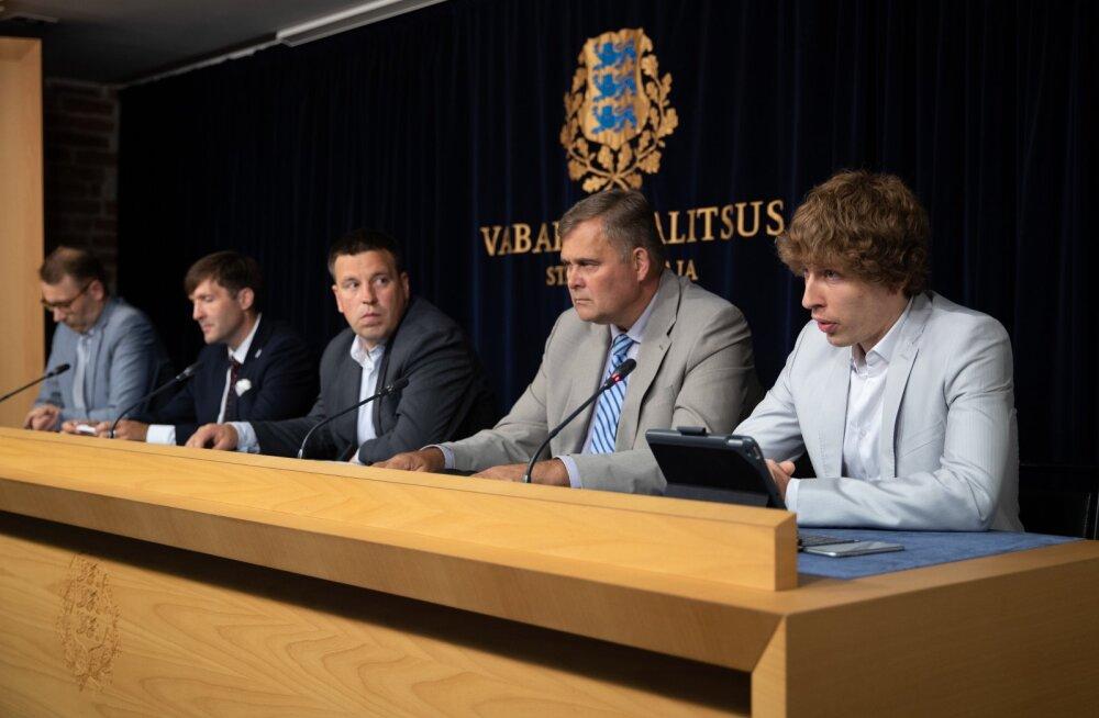 Valitsuse pressikonverents 16.07.2020