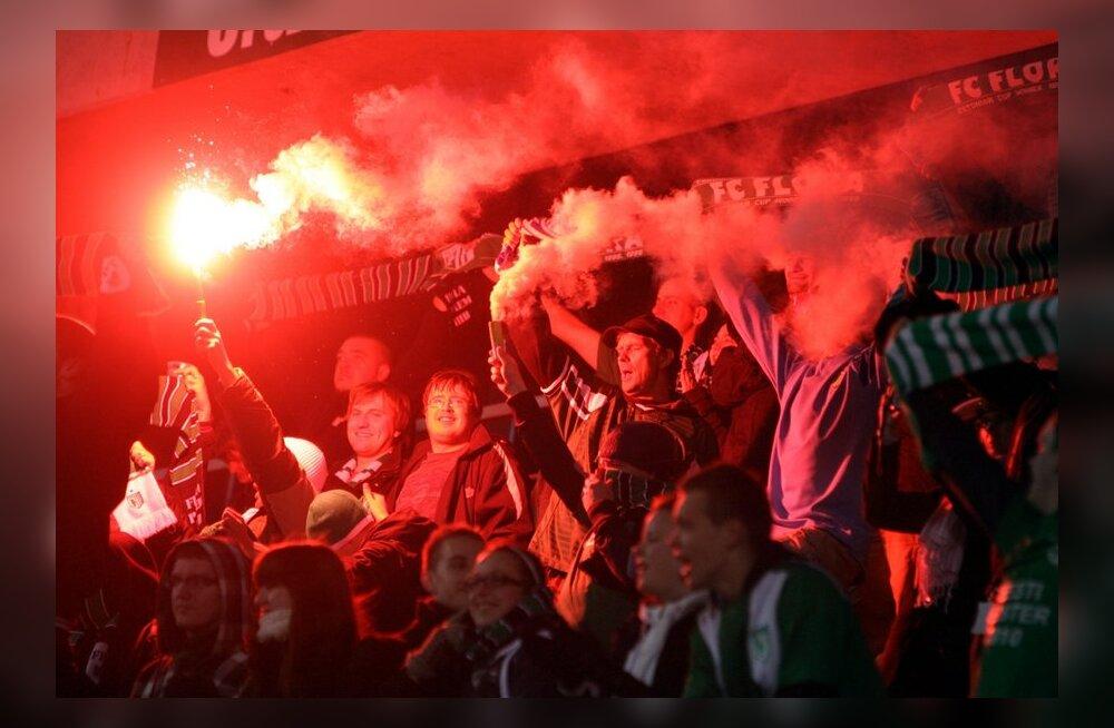 FC Flora võitis Eesti meistritiitli jalgpallis