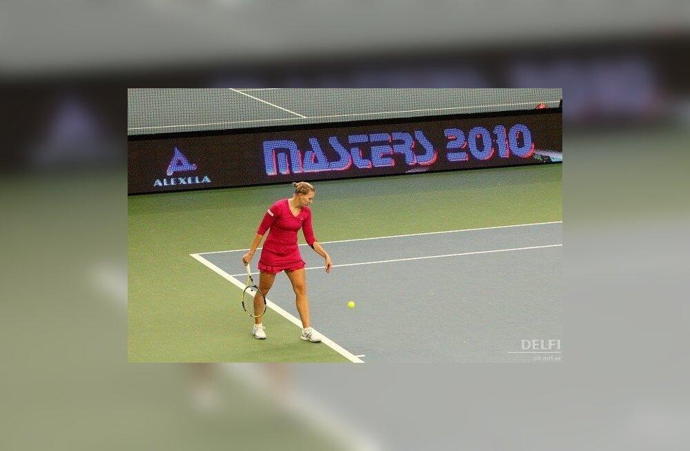 Kaia Kanepi kodusel Masters turniiril, tennis