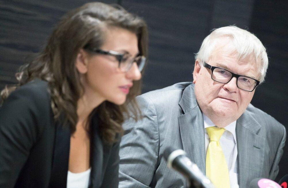 Edgar Savisaare ja Olga Ivanova ühine pressikonverents