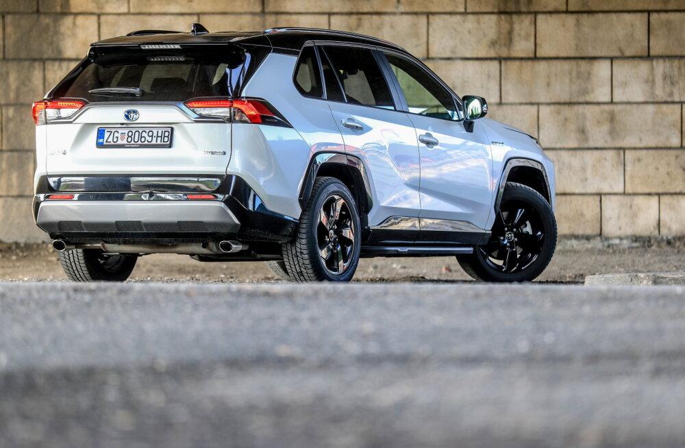 Toyota RAV4 teeb tõenäoliselt ka sel aastal Eestis puhta töö