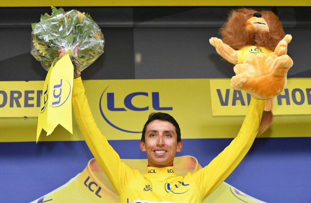 Egan Bernali esikoht Tour de France'il pani Colombia rõkkama.