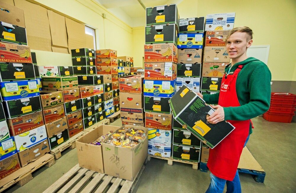 EL toiduabi jagamine toimetulekuraskustes inimestele on alanud