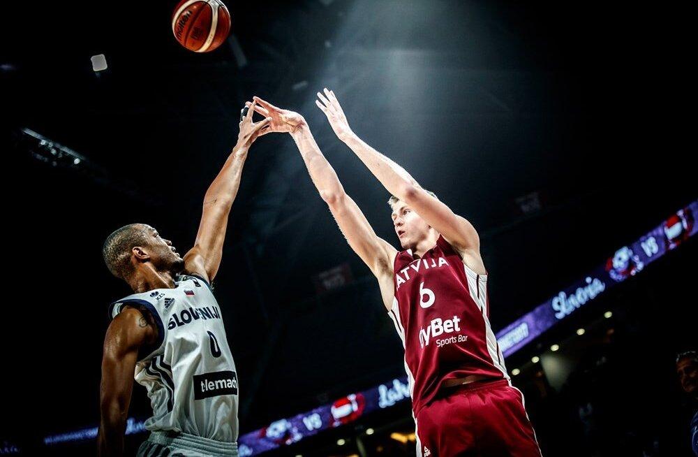 Porzingis pärast kaotust veerandfinaalis: see on Läti korvpalli jaoks alles algus