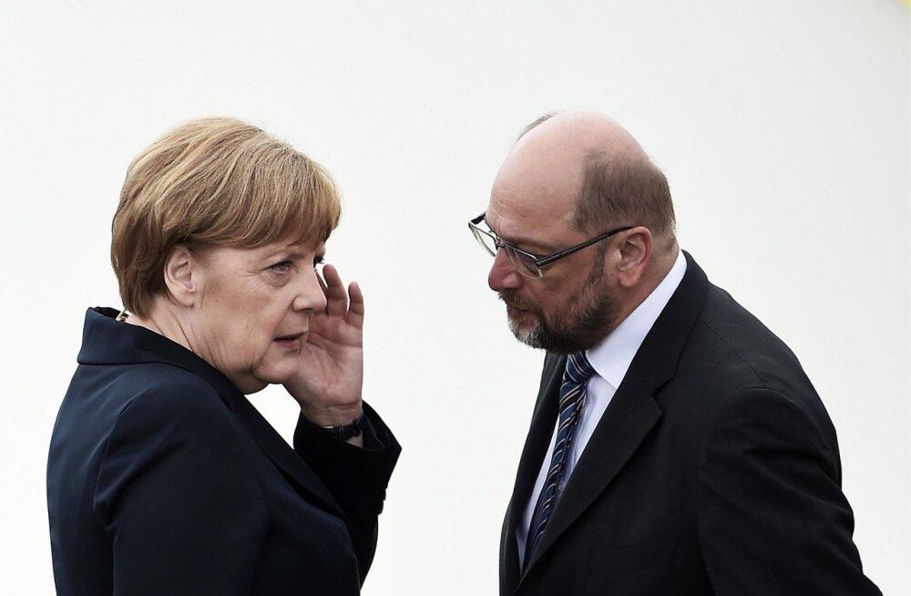 Võimalik, et sakslased saavad järgmisel sügisel valida, kas nad soovivad valitsusjuhiks edaspidigi Angela Merkelit või hoopis sisepoliitika uustulnukat Martin Schulzi. Kummalgi ei ole Venemaa suhtes illusioone.