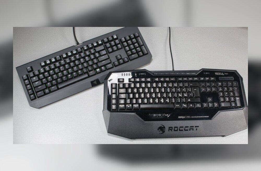 TEST: Kaks tippklaviatuuri – Roccat Isku FX vs Razer Black Widow Ultimate