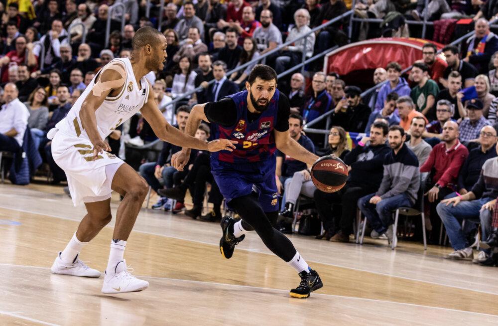 Barcelona pani aasta viimases El Clasico's Madridi Reali paika
