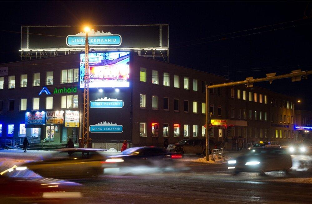 Reklaamipinnad Tallinna linnaruumis