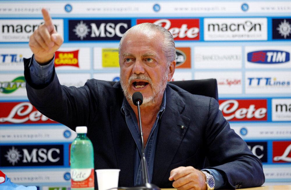 Liverpooliga ühte alagruppi sattunud Napoli pole loosiga rahul ja nõuab UEFA-lt selgitust