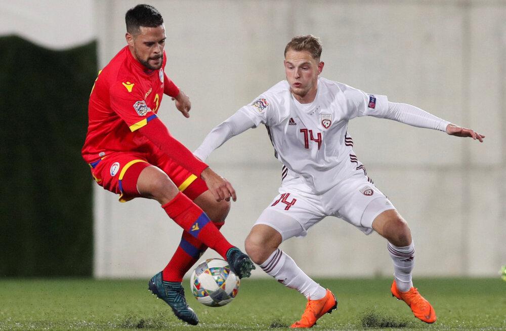 Marc Vales mängus Lätiga