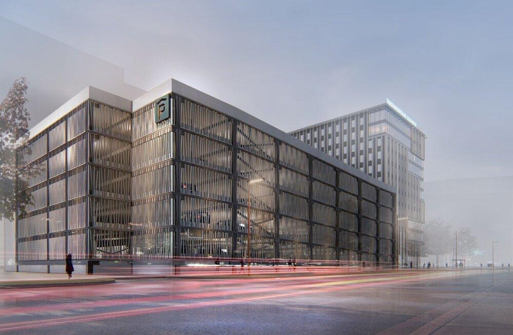 FOTOD | Selline saab olema Technopolis Ülemiste uus büroohoone