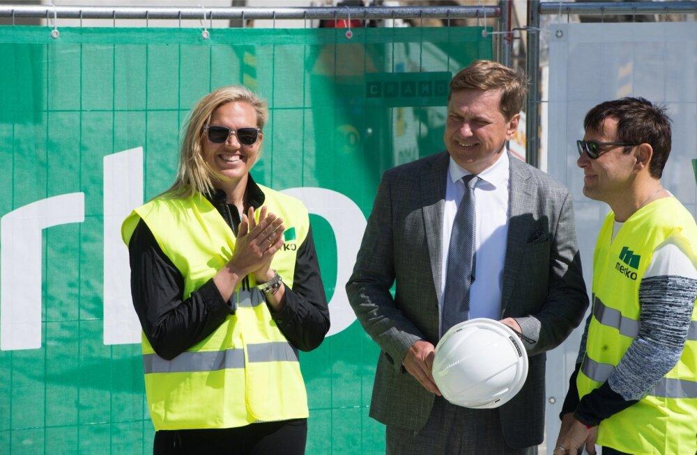 Infortar alustas tennisehalli ehitust