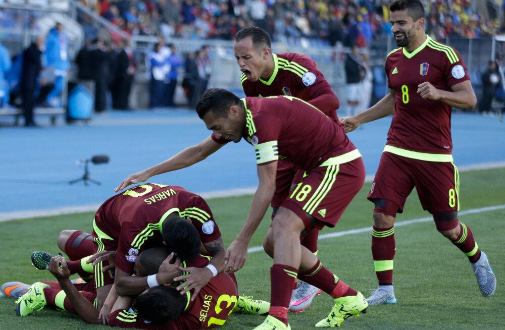 Venetsueela jalgpallurid