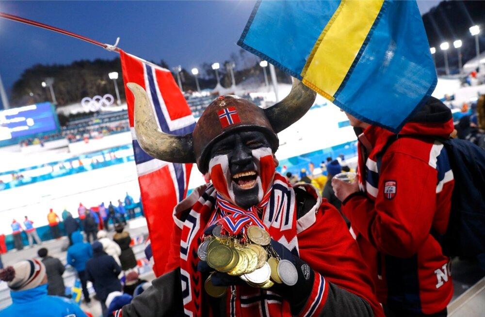 Norra viikingid on Pyeongchangis medaleid korjanud mehemoodi.