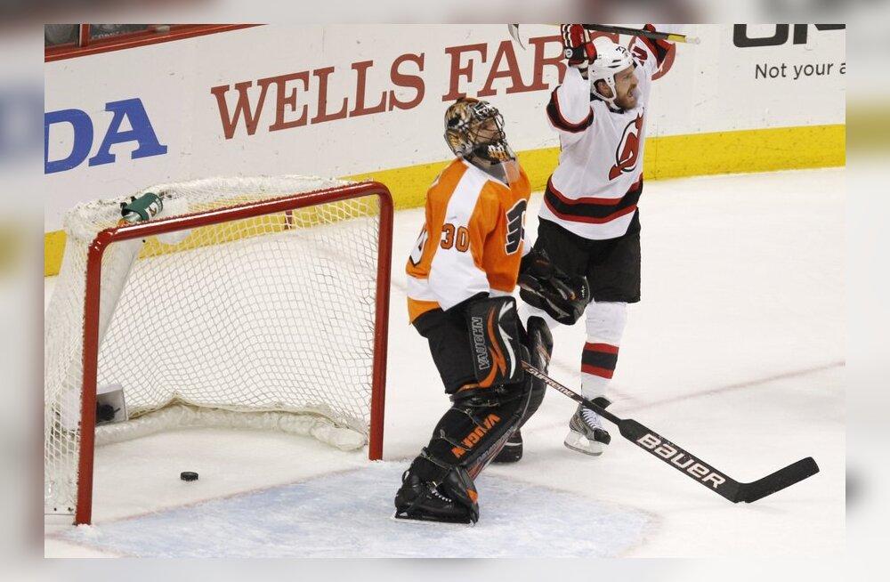 Ilja Brõzgalov pärast ränka eksimust, NHL, jäähoki