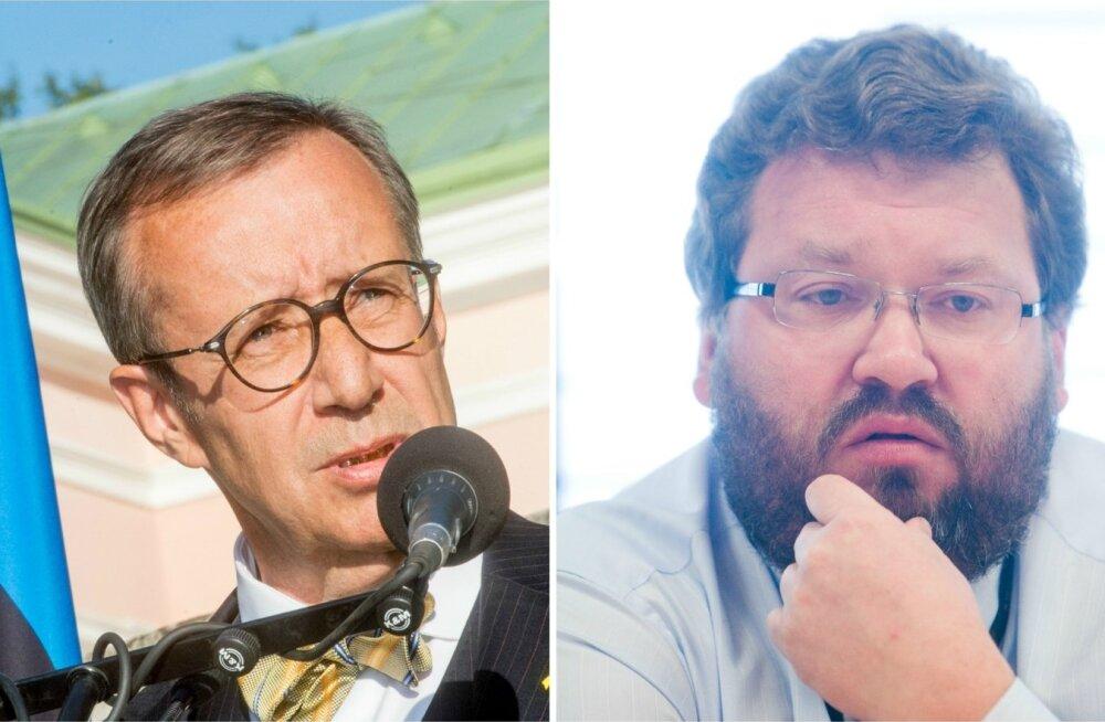 Toomas Hendrik Ilves ja Margus Kolga