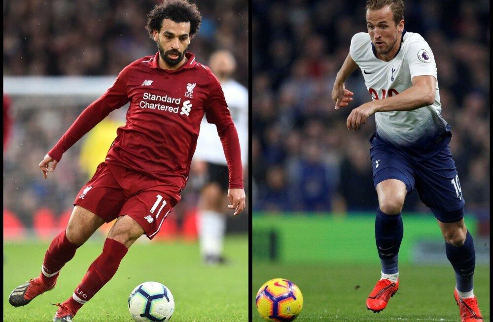 Mohamed Salah ja Harry Kane tahavad mõlemad olla Meistrite liiga finaali otsustajad.