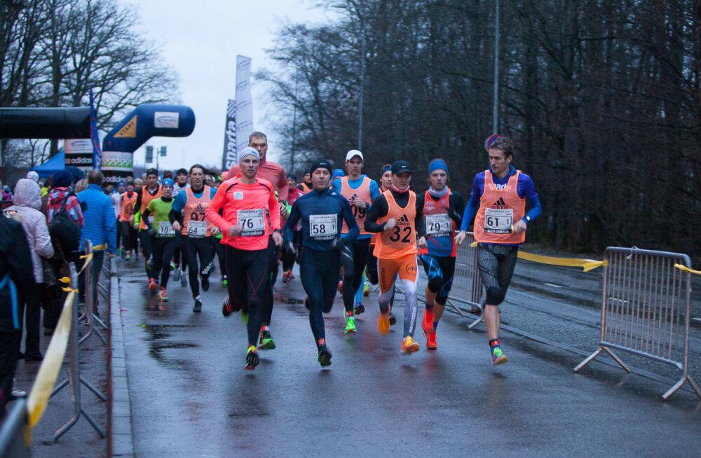 Vana-aasta maratonile ja teatemaratonile on start antud