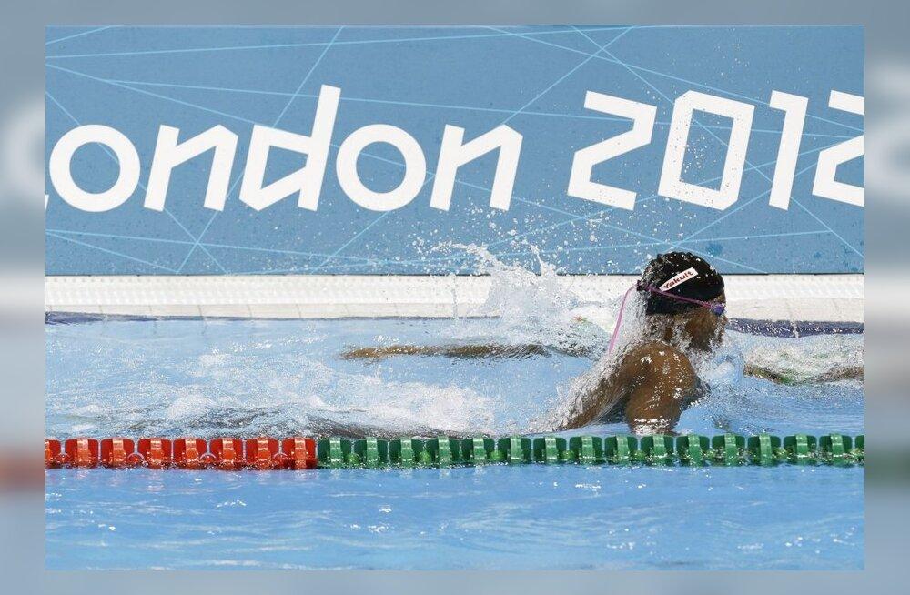 Londoni olümpia ujujad olid dopingust puhtad