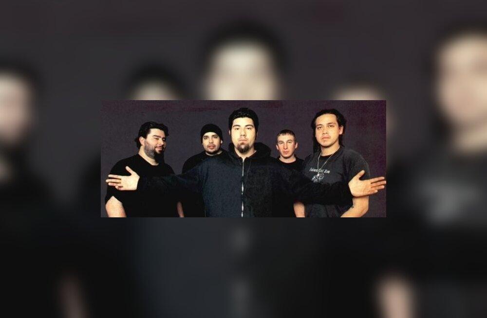 Deftones'i basskitarrist vaagub hinge