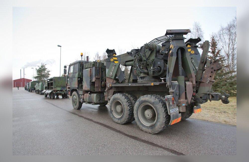 Läänemaal lõpeb sõjaväelogistikute väliharjutus
