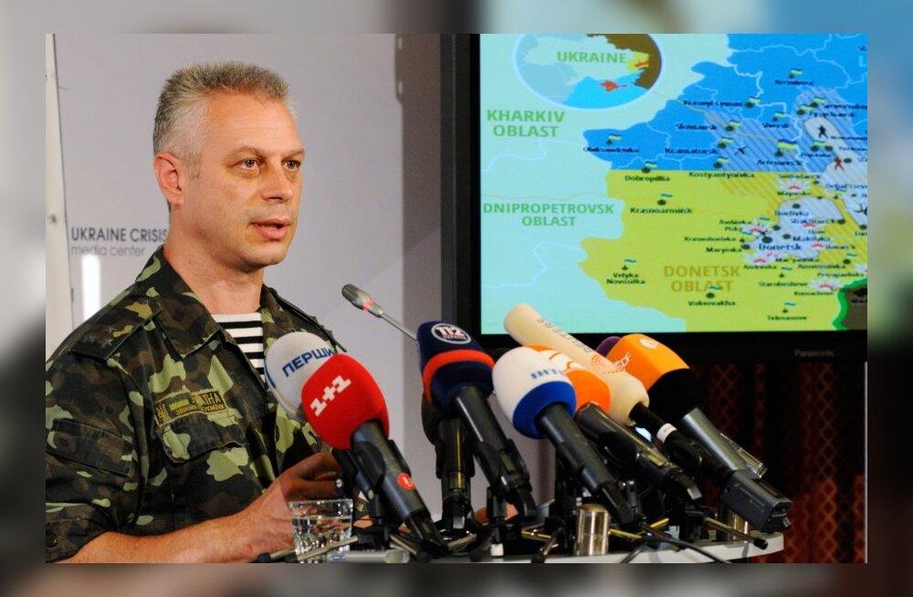 Ukraina julgeolekunõukogu: Venemaalt saabus FSB eriüksus mässuliste hulgas puhastust tegema