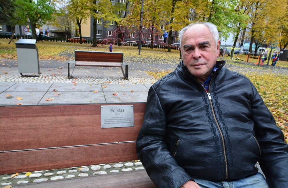 Eri Klasi nimeline pink Tallinnas Politseiaia pargis