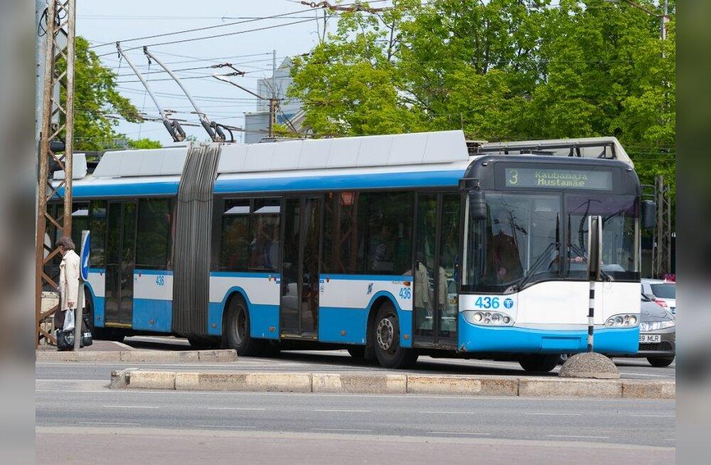 Tallinna ühistransport läheb üle talvisele töökorraldusele