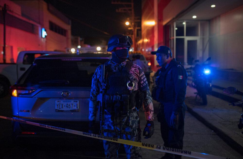 Mehhikos hukkus baaritulekahjus vähemalt 23 inimest