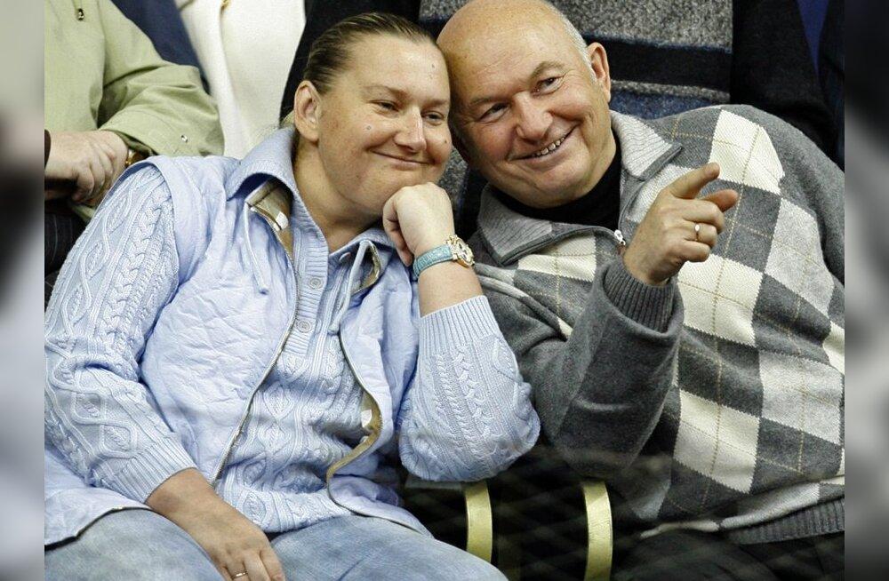 Venemaa ainus naismiljardär abikaasaga. Foto Miša Japaridže, AP
