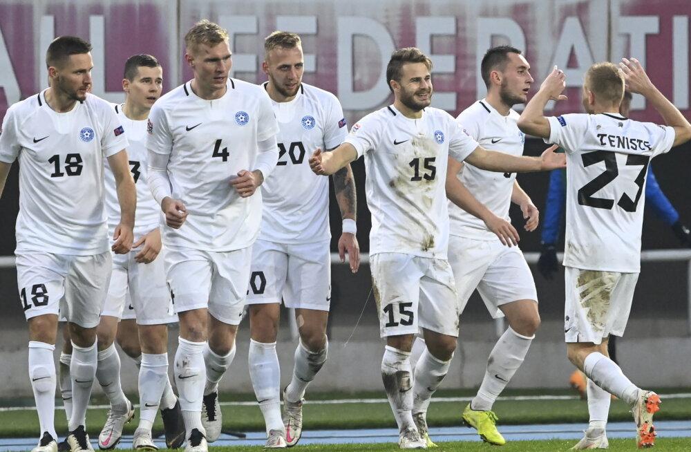 Kes on Eesti jalgpallikoondise võimalikud vastased MM-valiksarjas?