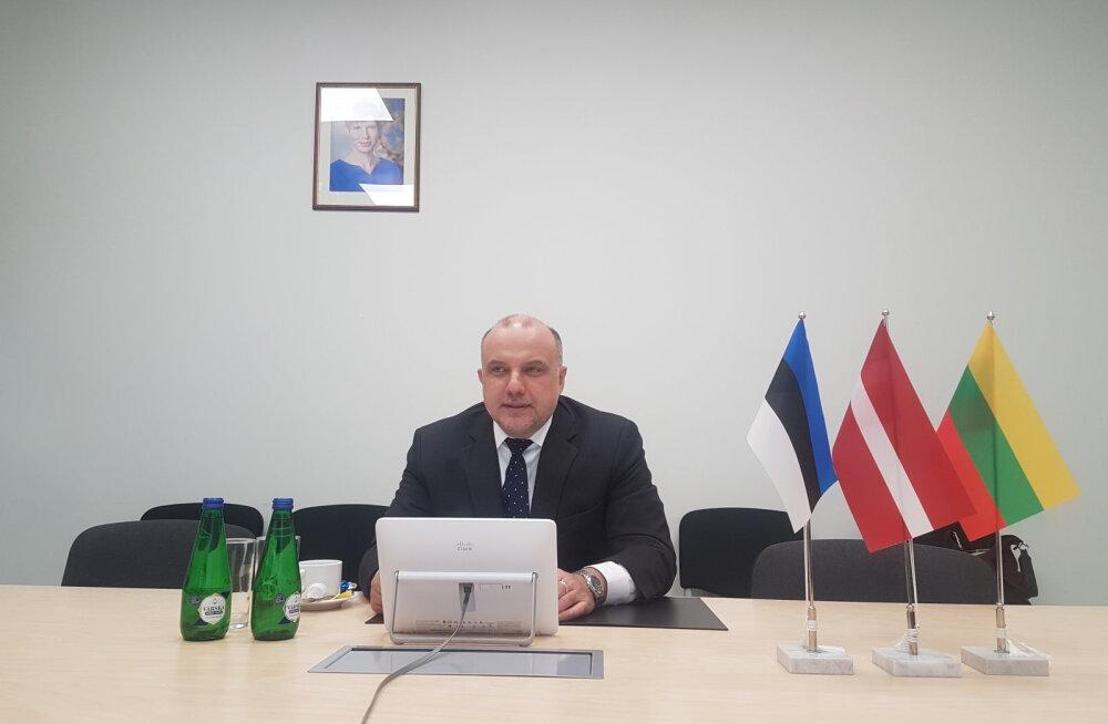 Министр Юри Луйк: и в условиях коронавируса оборонный бюджет должен быть сохранен на прежнем уровне