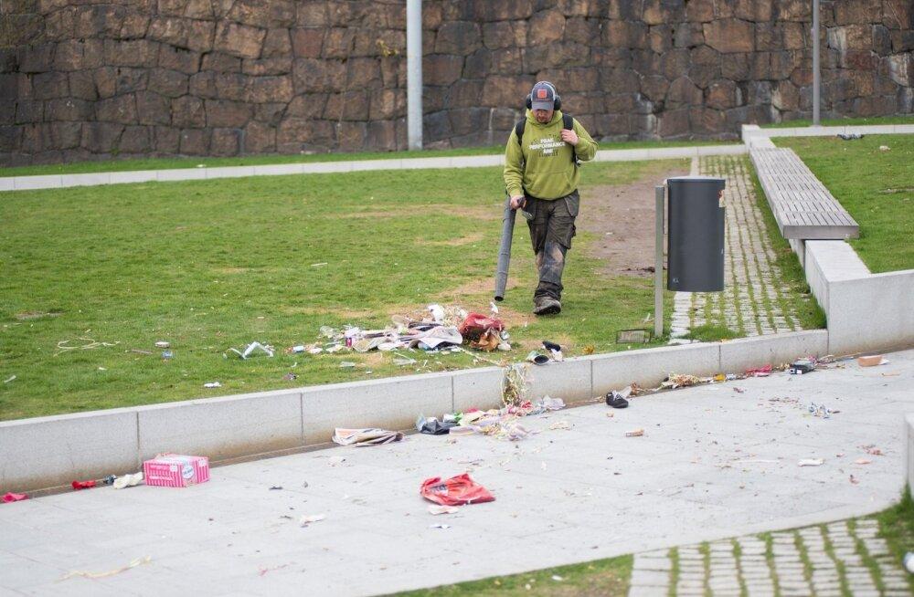 Helsingi Vappu 2015 hommik